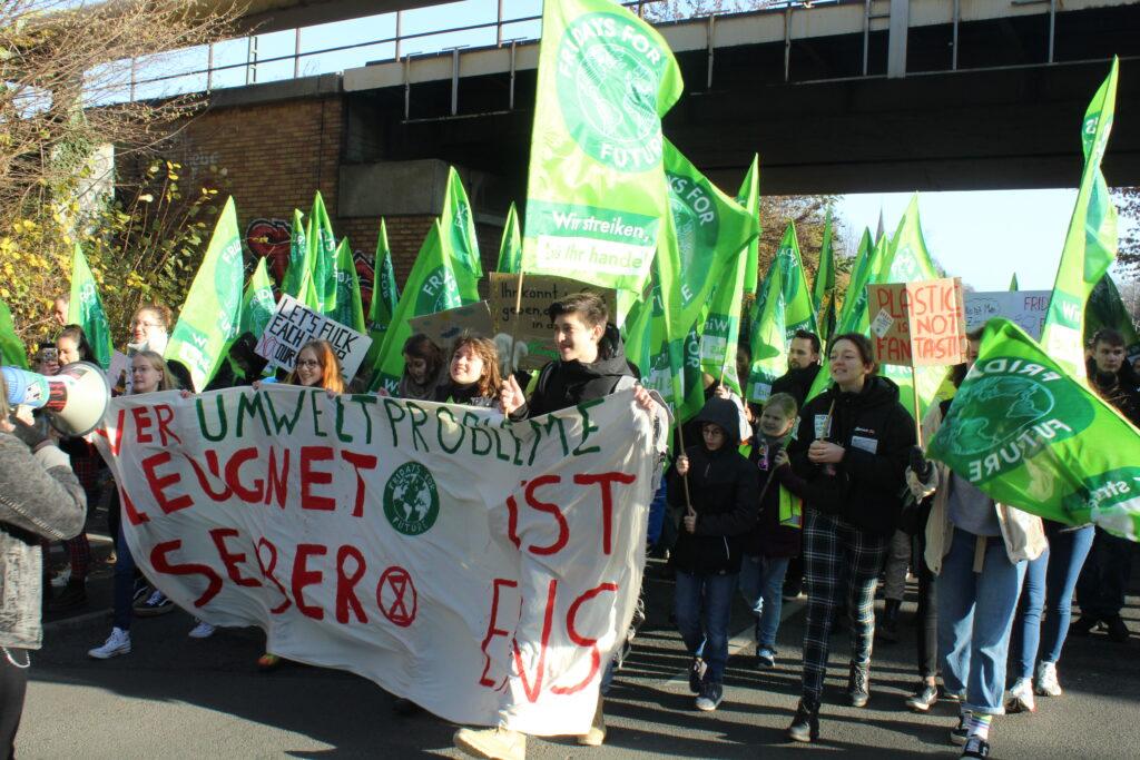 Demo für Klima Recklinghausen