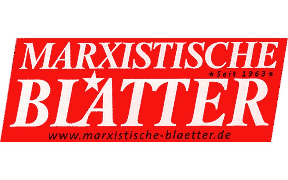 Marxistische Blätter Logo